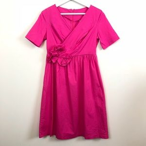 Shabby Apple Pink Wrap Dress